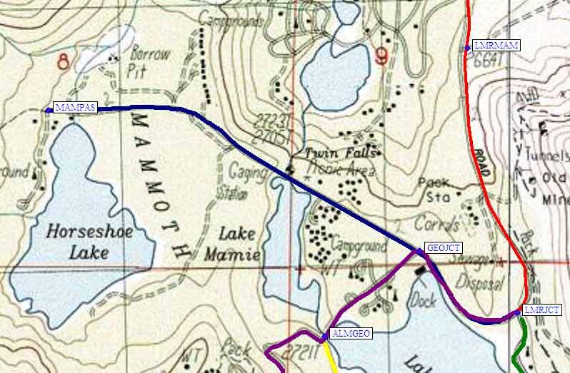 Mammoth Lakes on irvine trail map, mono lake trail map, eugene trail map, bear valley springs trail map, whittier trail map, lone pine trail map, claremont trail map, bend trail map, thousand island lake trail map, missoula trail map, yosemite falls trail map, lemon grove trail map, santa rosa trail map, los altos hills trail map, grand rapids trail map, sycamore trail map, highland trail map, jefferson county trail map, whistler trail map, mammoth bus map,